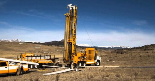 Water Borehole Drilling Process